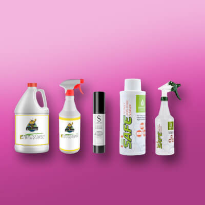 Cleaning Supply Labeling